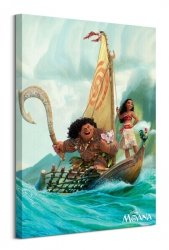 Vaiana Boat - obraz na płótnie