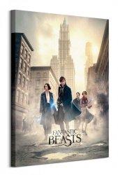 Fantastic Beasts (New York Streets) - obraz na płótnie