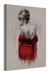Red XXXVIII - obraz na płótnie