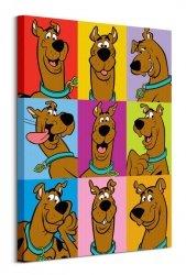 Scooby Doo Poses - obraz na płótnie