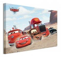 Cars Desert Race - obraz na płótnie