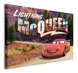 Cars Lightning Mcqueen Mountain Drive - obraz na płótnie