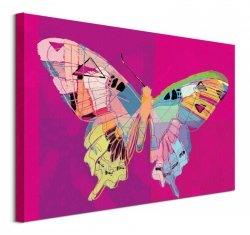 Neo Butterfly - obraz na płótnie
