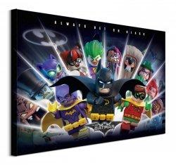 Lego Batman (Always Bet On Black) - obraz na płótnie