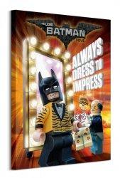 Lego Batman (Always Dress To Impess) - obraz na płótnie