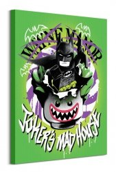 Lego Batman (Joker'S Madhouse)  - obraz na płótnie