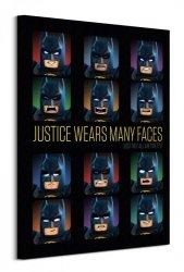 Lego Batman (Justice Wears Many Faces)  - obraz na płótnie