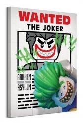 Lego Batman (Wanted The Joker)  - obraz na płótnie