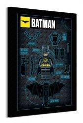 Lego Batman (Batman Gadgets)  - obraz na płótnie