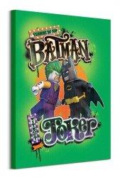 Lego Batman (Batman V Joker)  - obraz na płótnie