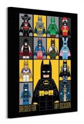 Lego Batman (Dress For Any Occasion)  - obraz na płótnie