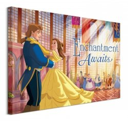 Beauty And The Beast (Enchanted)  - obraz na płótnie