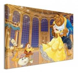 Beauty And The Beast (Ballroom)  - obraz na płótnie