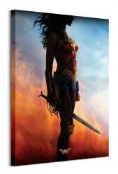 Wonder Woman (Teaser)  - obraz na płótnie