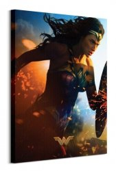 Wonder Woman (Courage) - obraz na płótnie