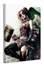 Batman (Harley Quinn Pose)  - obraz na płótnie