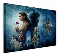 Beauty And The Beast Movie (Transformed)  - obraz na płótnie