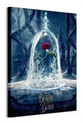 Beauty And The Beast Movie (Enchanted Rose)  - obraz na płótnie