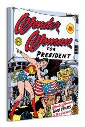 Wonder Woman (For President)  - obraz na płótnie
