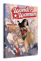 Wonder Woman (From The Flames)  - obraz na płótnie