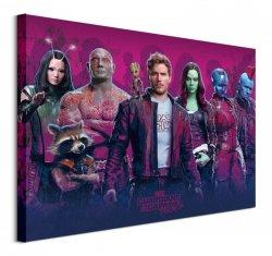 Obraz na płótnie - Strażnicy Galaktyki - Postacie - Guardians Of The Galaxy Vol. 2