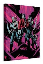 Obraz na ścianę - Strażnicy Galaktyki 2 - Guardians Of The Galaxy Vol. 2 (Unite)