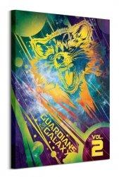 Obraz na płótnie - Strażnicy Galaktyki Rocket - Guardians Of The Galaxy Vol. 2 (Rocket)