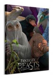 Obraz na płótnie - Fantastyczne Zwierzęta - Fantastic Beasts (Escaped Beasts)