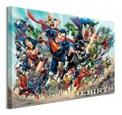 Obraz na ścianę - Liga Sprawiedliwych - Justice League (Rebirth) 60X80Cm