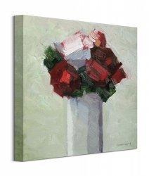 Obraz na płótnie - Czerwony Bukiet - Red Bouquet