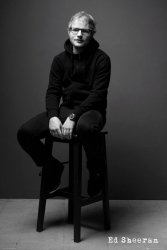 Ed Sheeran Black and White - plakat z artystą