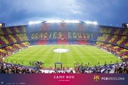 Stadion FC Barcelona Camp Nou - plakat