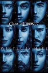 Game Of Thrones Winter is Here - plakat