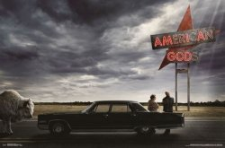 American Gods Sezon 1 - plakat z serialu