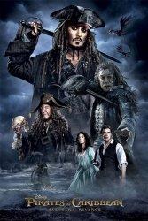 Piraci z Karaibów Darkness - plakat filmowy