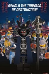 LEGO® Ninjago Movie Garmadon Destruction - plakat bajkowy