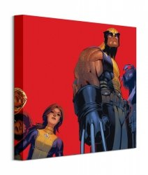 Obraz Filmowy - X-Men Wolverine And The X-Men - 40x40 cm