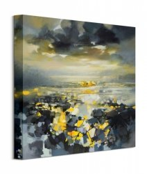 Obraz na ścianę - Yellow Matter 1 - 40x40 cm