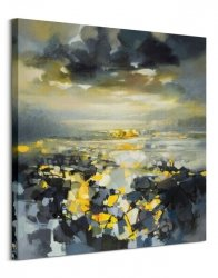 Obraz na płótnie - Yellow Matter 1 - 85x85 cm