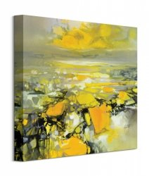 Obraz na ścianę - Yellow Matter 2 - 40x40 cm