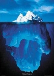 Góra lodowa - plakat