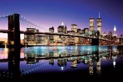 Brooklyn Bridge (Colour) - plakat