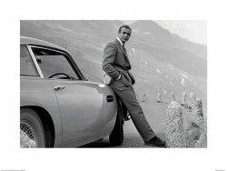 James Bond (Aston Martin) - reprodukcja