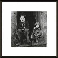 Charlie Chaplin The Kid - obraz w ramie