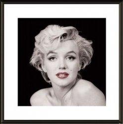 Obraz w ramie - Marilyn Monroe Red Lips