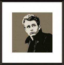 James Dean Jacket - obraz w ramie