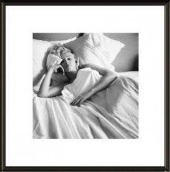 Obraz w ramie - Marilyn Monroe Bed