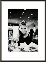Audrey Hepburn Breakfast At Tiffany's - obraz w ramie
