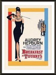 Obraz w ramie - Audrey Hepburn Breakfast At Tiffany's One-sheet