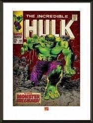 Incredible Hulk Monster Unleashed - obraz w ramie